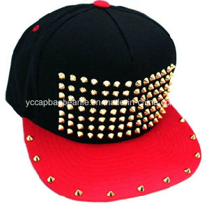 Custom Design Blank Snapback Studs Hip Hop Hat pictures & photos