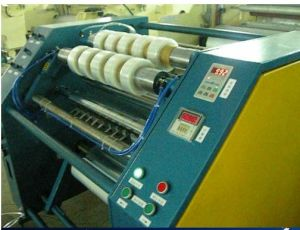 Stretching Film Slitting Machine (PPD-SFS-600) pictures & photos