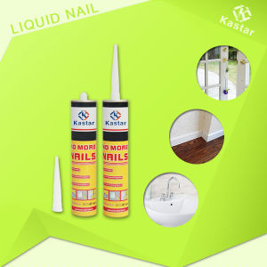 Beige Color No Peculiar Smell Nail Free Glue pictures & photos