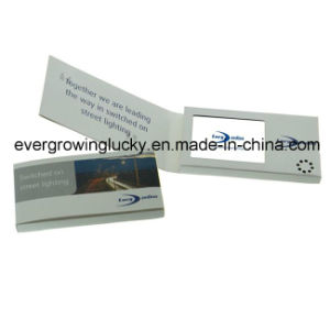 "4.3""/5""/7"" LCD Video Greeting Card/LCD Video Brochure/LCD Video Booklet- Adverting pictures & photos"