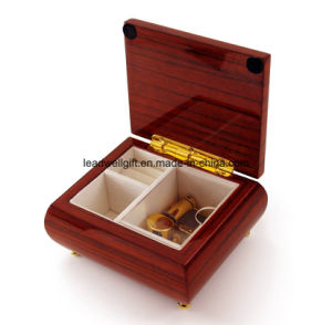 Gift Box High Gloss Rosewood Jewelry Box Packaging Box pictures & photos