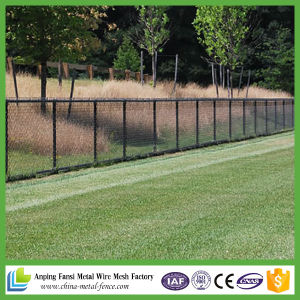 Galvanized (diamond wire mesh) /PVC Coated Chain Link Fence pictures & photos