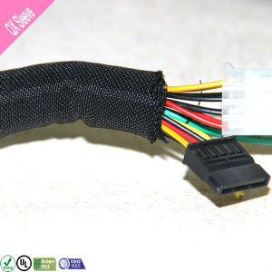 Insulate Self-Roll Woven Split Cable Sleeving pictures & photos