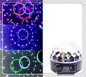 Dependable Stage Equipment Producer LED Mini Ball Rotating LED Lights pictures & photos
