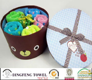 New X′mas Season Cake Gift Towel Sets pictures & photos