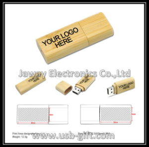 Promotional 1GB Wooden Material USB 2.0 Flash Drive