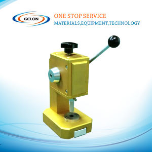Cr2025 Coin Cell Punching Machine pictures & photos