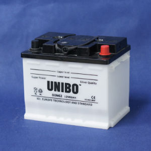 Car Battery High Performance Dry Charged Lead Acid Battery DIN62 12V62ah pictures & photos