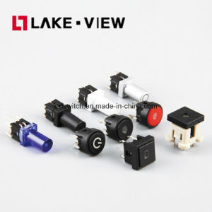 SGS Illuminated Dustproof Waterproof Micro 6*6mm Tact Switch pictures & photos
