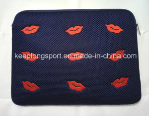 Fashionable and Customized Embossed Neoprene Laptop Bag, pictures & photos
