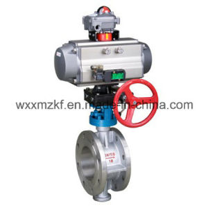 Pneumatic Rotary Butterfly Valve pictures & photos
