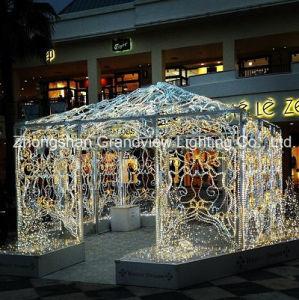 LED Motif Castle Christmas Light pictures & photos