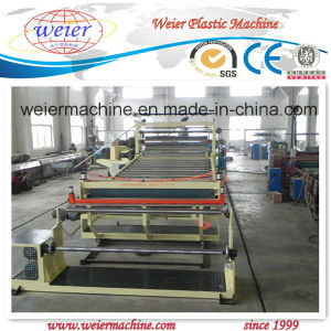 PVC Floor Leather Production Line pictures & photos