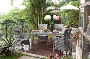 Giardini arredamento arredi in weaving da giardino for Arredamento made in china