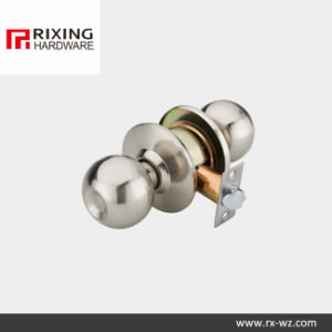 Iron or Stainless Steel Cylindrical Knob Lock (891SN) pictures & photos