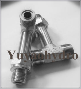 Special Hydraulic Fittings with Extra Long Adjustable Nut pictures & photos