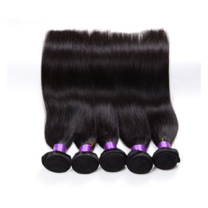High Grade 8A Wholesale Virgin Top Quality Brazilian Straight Hair 3 Pieces pictures & photos