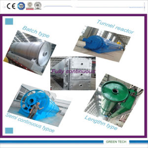 Plastic Film Recycling to Oil Pyrolysis Equipment 90% Oil pictures & photos
