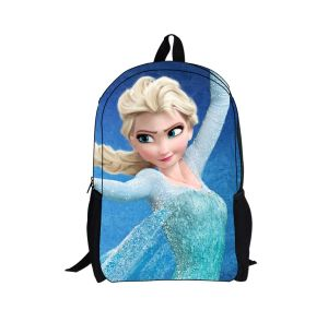 2014 New Frozen Doll Backpack for Boys and Girls Frozen Bag for Gift Frozen Anna Elsa Cute Cartoon Bags and School Bag pictures & photos