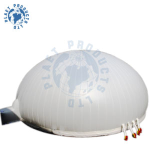 White Thin PVC Film Inflatable Tent with SGS, En71 Approval (PLT30-004)
