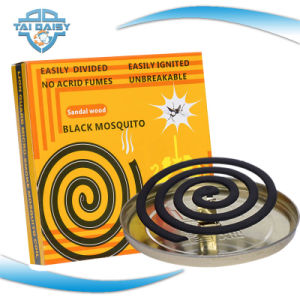 Long Burning Time Micro Smoke Black Mosquito Coil Made in China/Mosquito Repllent Coils/Mosquito Repllent Incense pictures & photos