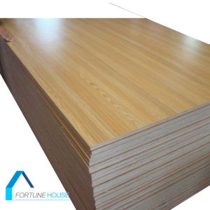 4X8 Furniture/Decoration Grade Melamine Paper Ash Veneer Laminated Plywood pictures & photos
