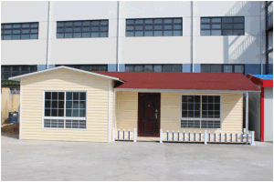 Modern Design Economic Prefabricated Villa House with PVC Decorative Boards pictures & photos