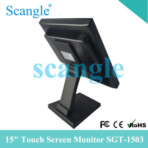 15 Inch 5 Wire Resistive LCD Touch Monitor pictures & photos