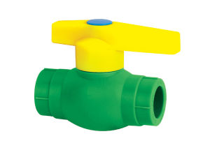 PP-R Plastic Ball Valve /DIN8077/8078 16962 pictures & photos