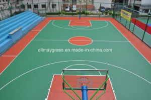 Environmentally Friendly Synthetic Basketball Flooring pictures & photos