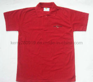 Fashion Polyester Wtih Cotton Jersey Polo Shirt (DH-LH618) pictures & photos