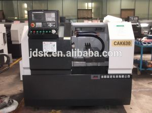 CNC Lathe with Lm Guide (CAK630/CK6130) pictures & photos