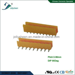 Pluggable Terminal Blocks 10pin pH3.96mm with Orange Housing pictures & photos