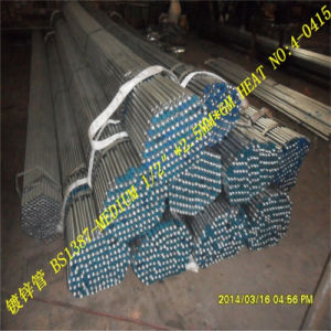 Bs-1387 Galvanized Steel Pipe (Threaded) pictures & photos