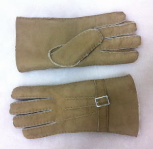 Sheepskin Leather Fashion Gloves Real Fur