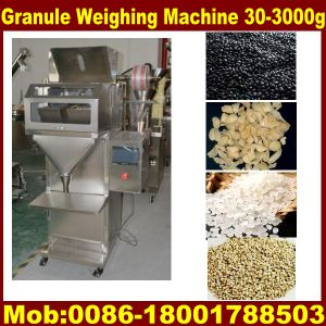 Semi Granule Filling Machine, Granule Weighing Packing Machine Semi Automatic (CE certificate) pictures & photos