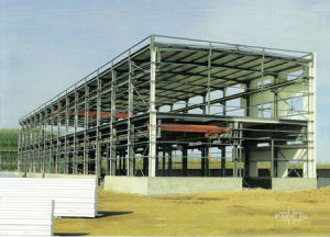 Steel Frame for Steel Structure Building pictures & photos