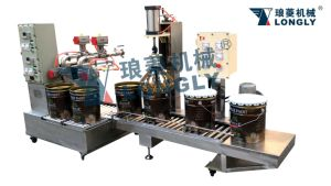 Weighing Type Liquid Filling Machine pictures & photos