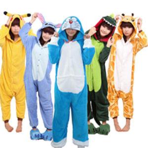 Unisex Animal Onesie Pyjamas Costume for Adults and Kids