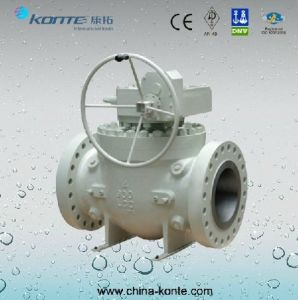 Top Entry Cast Steel H2-5 Trunnion Ball Valve pictures & photos