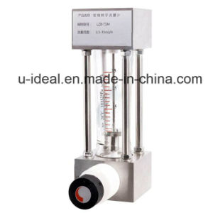 Lzm-Series Plexiglass Flowmeter-Flows Ensor-Rotameter Flow Meter pictures & photos