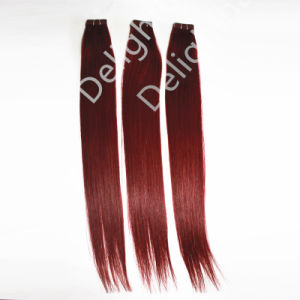 Professional Factory of Brazilian Human Virgin Remy Tape Hair Extension Nhte017
