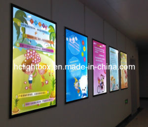 Aluminum Magnetic Frame Slim LED Advertising Light Box pictures & photos