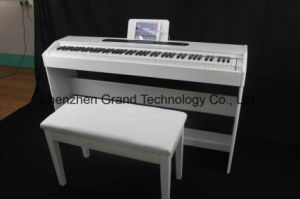 88 Key Electronic Digital Piano with 1 Sustain Pedal (GD-8815W) pictures & photos