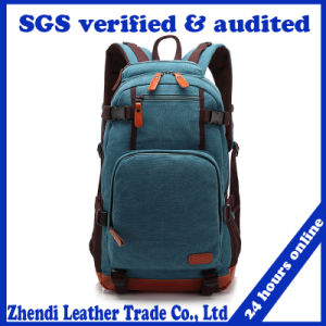 Wholesale Hot Style School Canvas Backpack (30062) pictures & photos