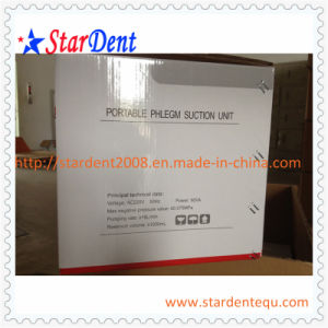 Dental Supply Portable Phlegm Suction Unit (AC/DC) of Hospital Medical Lab Surgical Equipment pictures & photos