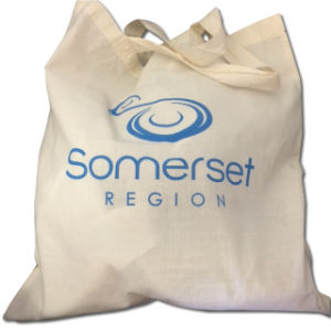 Promotional Calico Shopping Bag with Natural Cotton Fabric pictures & photos