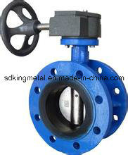 Cast Iron EPDM Seat Wafer Type Butterfly Valve pictures & photos