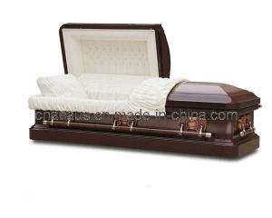 American Style 18 Gauge Steel Casket (1851041) pictures & photos