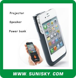 3 in 1 Multifunctional DLP Mini Projector for iPhone pictures & photos